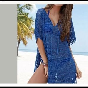New Venus Knit Swimsuit Cover-up Crochet Tunic
